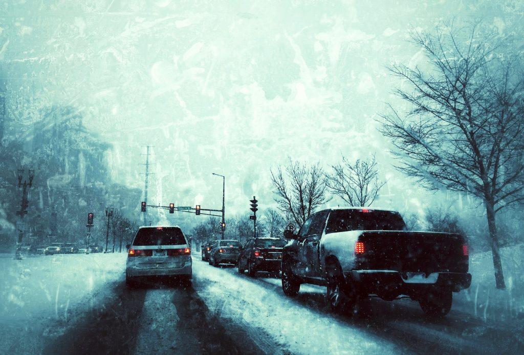 defensive driving in winter