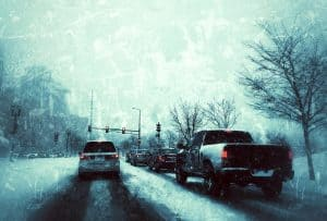 defensive driving in winter