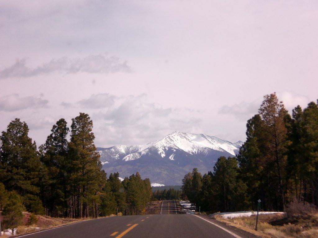 Colorado mountain driving